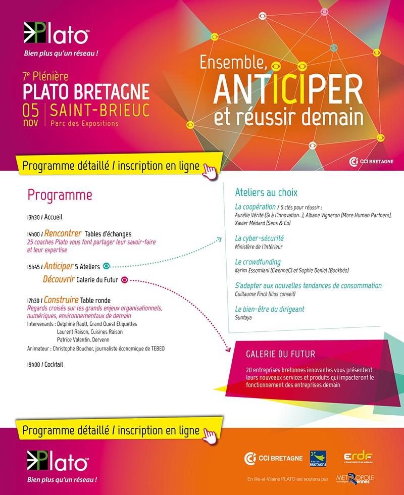 Programme Pkeinière PLATO 2015