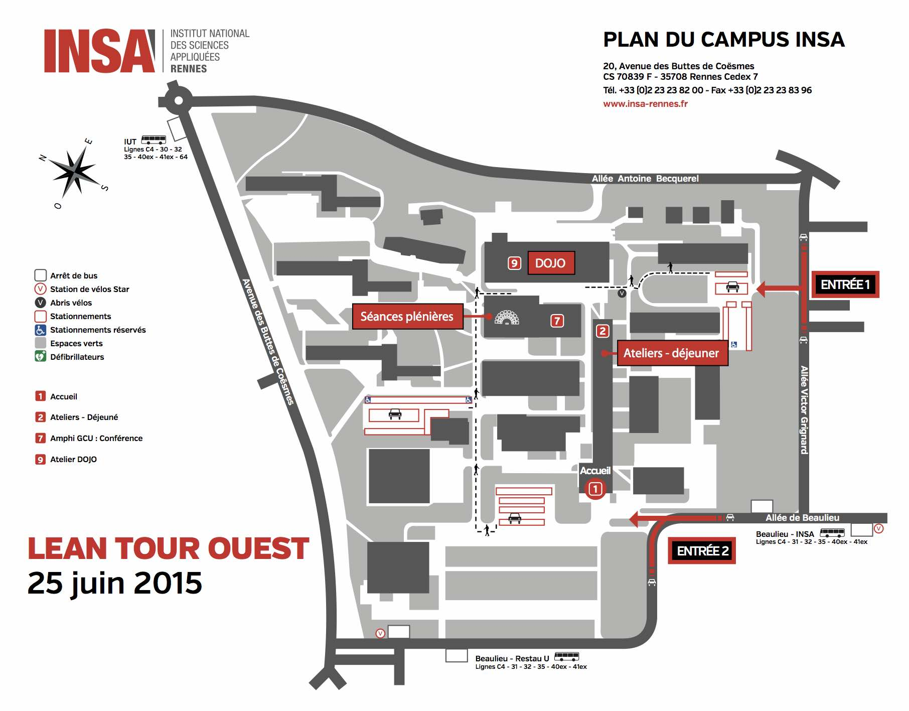 INSA PLAN CAMPUS